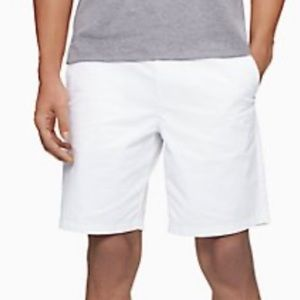 "2/$40! Calvin Klein Solid Straight Chino 9"" Shorts"